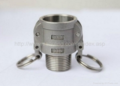 stainless steel quick coupling type B