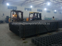 Welded steel panel, reinforcing mesh panel