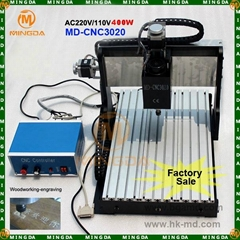 MD-CNC3020 400W carving machine for wood/metal