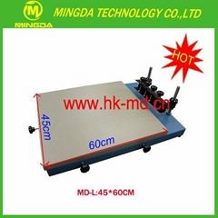 MD-L 45x60cm SMT manual solder paste screen printer for PCB board