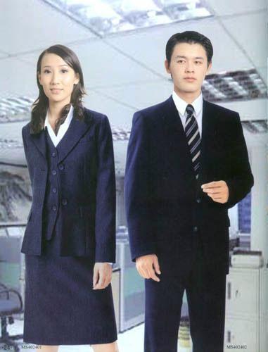 男性工作服 4