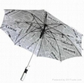 23-inch aluminum umbrella full printing design VS-029