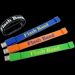 Silicone Bracelet USB Flash Disk
