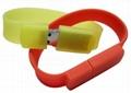 Silicone Bracelet USB Flash Disk 3