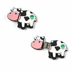 Cartoon Cow usb flash drive