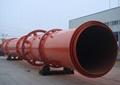 Rotating cylinder drying machine 3