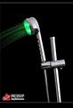 ABS電鍍發光變色花灑 3