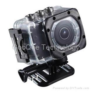 "Underwater 60m Full HD 1080P Mini DV with 1.5"" LCD 1"