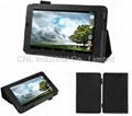 PU Leather Normal prism stand Case for Asus MeMO Pad ME172V