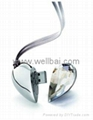 Diamond Heart Gift USB Flash Drive,Crystal Heart USB Flash Disk