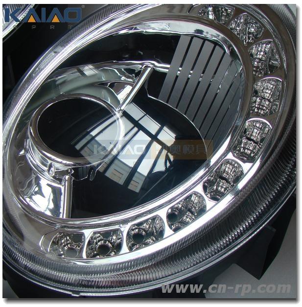 auto lamp suit CNC prototype manufacturer 2