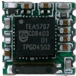 AM/FM收音模块TEA5767 2