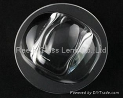 high power led street light glass lens