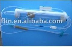 disposable burette type infusion set