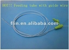 PVC infant feeding tube Fr6 with guide wire