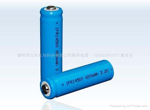 IFR14500磷酸铁锂电池 1