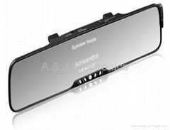 3.5''TFT Bluetooth rearveiw mirror car kits