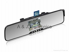 Back up camera system car rearview mirror