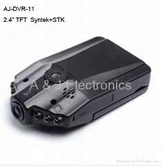 Car Black Box with night vision lights