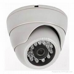 Plastic IR Dome security cctv Camera KW-201AR