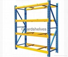 Medium duty warehouse shelf
