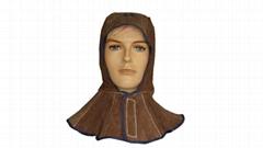Leather Hood/Helmet