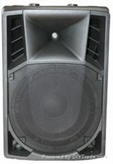 molded cabinet speaker