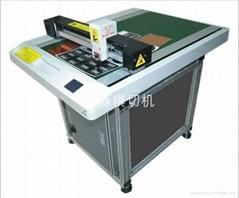 高精度微型刀片切割机/保护膜电子触摸屏用打样机