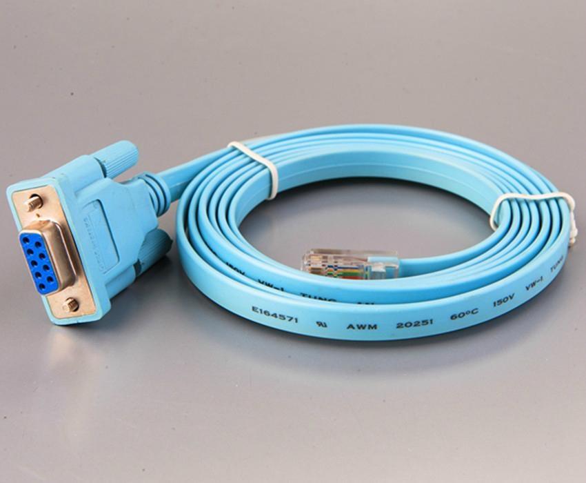 High Quality Vga Flat Rj45 To Db9 Cable Tyf 04 Tyf