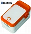 Bluetooth/USB Fingertip Pulse Oximeter/Blood Pressure Monitor for iPhone/iPad
