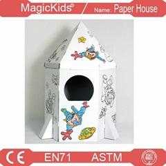 Paper Rocket Model Kiddie Drive inside