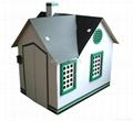 Cuddy House Cardboard /Outdoor Playground Doll house 2
