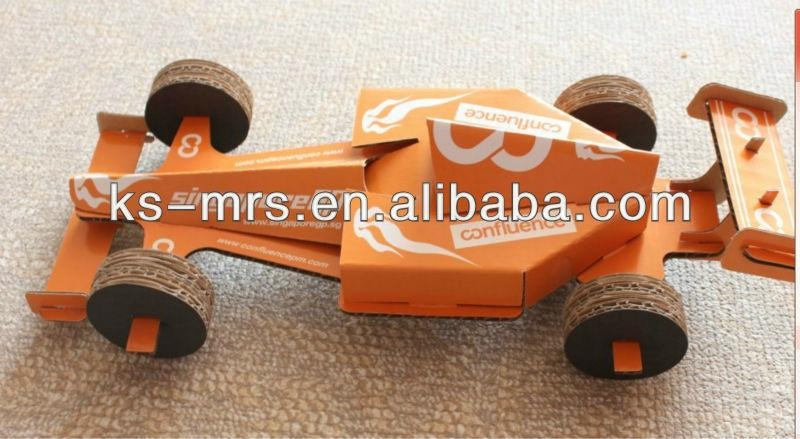 F1 Racing Car Model/Promotion 3D Folding Toys 1