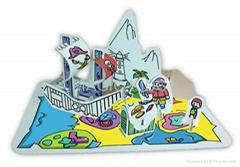 Paper Folding toys kits-- Pirate Ship