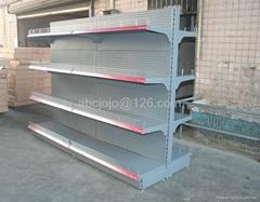 Supermarket Shelf with volcano backboard