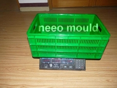 Crate mould - Plastic injection mould -- neeo mould