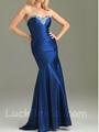 Pretty Royal Blue Mermaid Prom Dress