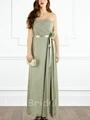 Beautiful Aline Strapless Bridesmaid