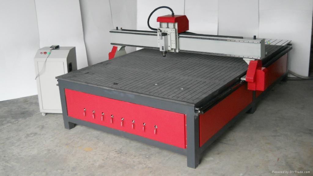 木工雕刻机2030型高密度板、实木板的平面雕刻、切割、3D浮雕等 1