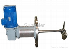 SK100 Light Side Entry Agitator Mixer