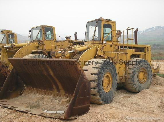 click for larger image. Wheel loader CAT-988B 1