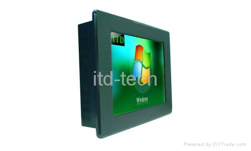 """12.1"""" panel mount touch monitor 1"""