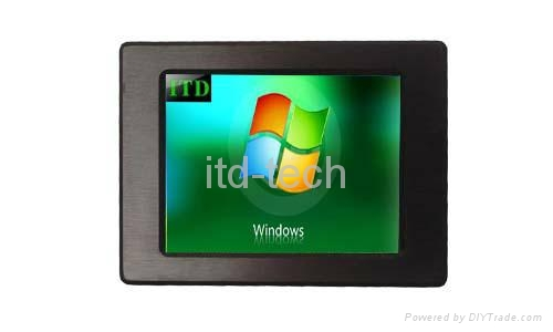 """12.1"""" panel mount touch monitor 3"""