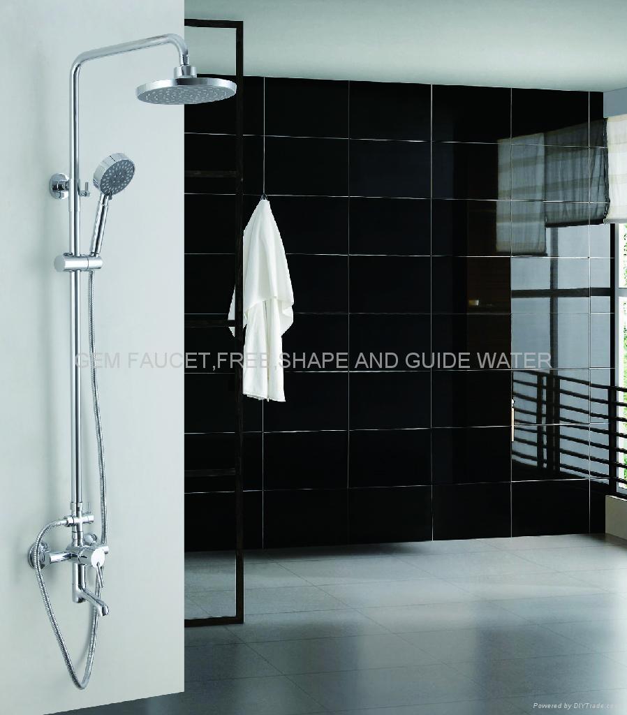 Shower Column, shower set, shower faucet, tub shower faucet, wall ...