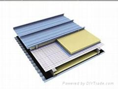 Aluminium roof panel