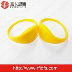 Ultralight RFID silicone Wristband