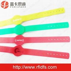 F08 RFID Silicone Wristband