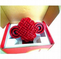 chinese knot shape mini speaker with 3.5mm plug