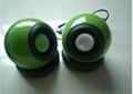 Computer Ball Shape Speaker  2