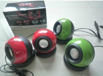 Computer Ball Shape Speaker  4